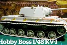 Hobby Boss 1/48 KV-I Build