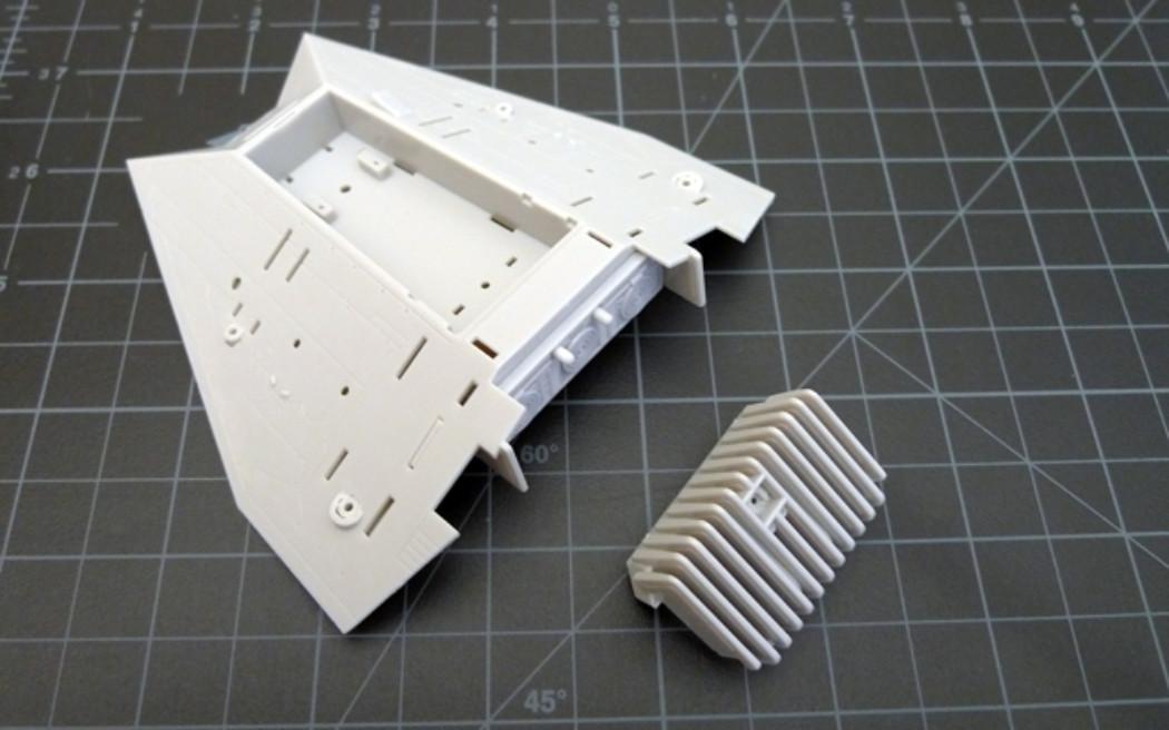 Fine Molds 1/48th Star Wars Snowspeeder Project Part 1