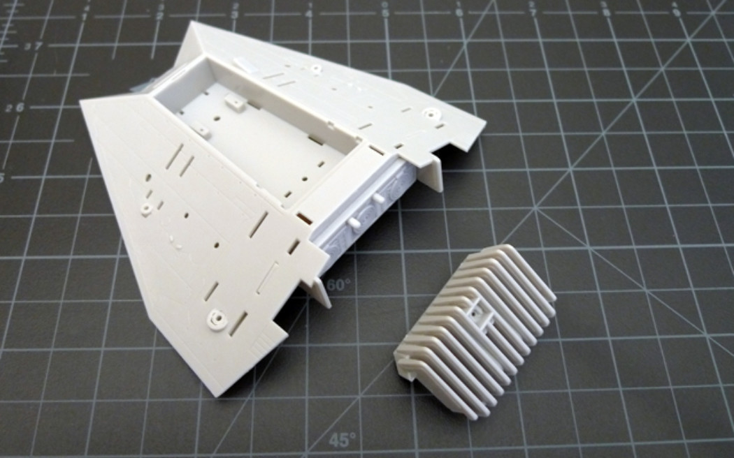 Fine Molds 1/48th Star Wars Snowspeeder Project Part 1
