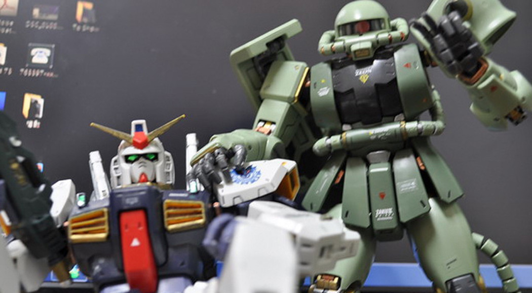 Behind the Scenes: Gundam Desktop Arena