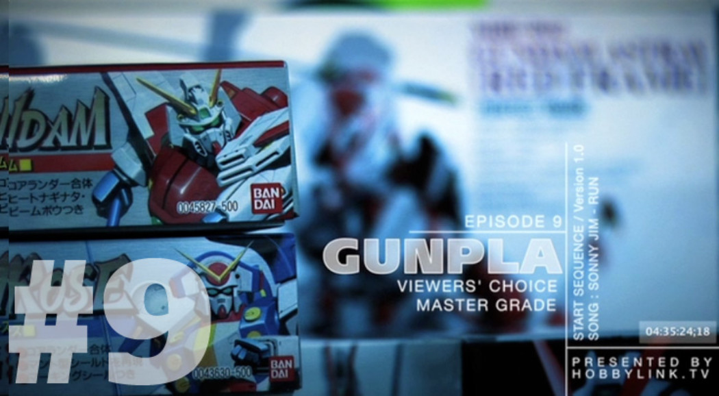 Gunpla TV – Episode 9 – MG FA Gundam WIP PT4 – The Arms – Yellowbird Sinanju