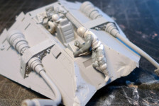 Fine Molds 1/48th Star Wars Snowspeeder Project Part II