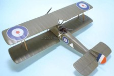 Building: Vacuformed WWI Airplane