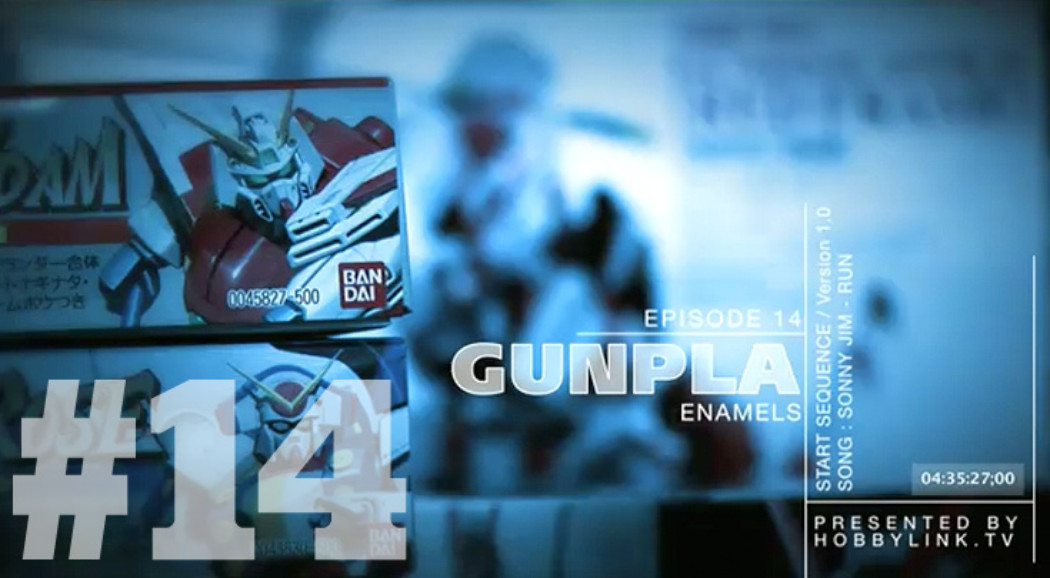 Gunpla TV – Episode 14 – Enamel Panel Line Tutorial – Washing Runners