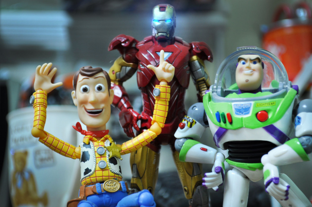 Behind the Scenes: Iron Man and Toy Story Stop-Motion Movie