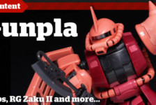 Gunpla TV – Episode 21 – RG Char's Zaku Unboxing & Handpainting Trim