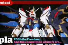 Gunpla TV Special – PG Strike Freedom Unboxing & Competition Winners!