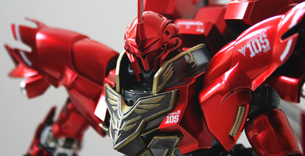 1/100 MG Sinanju Ver.Ka Titanium Finish