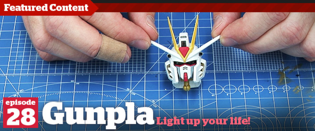 Gunpla TV – Episode 28 – PG Strike Freedom WIP Part 5