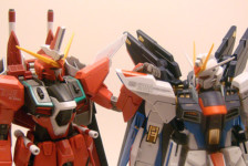 MG Strike Freedom Full Burst Mode
