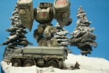 Diorama : Macross Destroid Phalanx