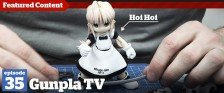 Gunpla TV – Episode 35 – Building a Kotobukiya Hoi Hoi San Kit!