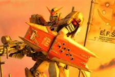 "Diorama : RX78-5 Madrock ""Forgotten War"""