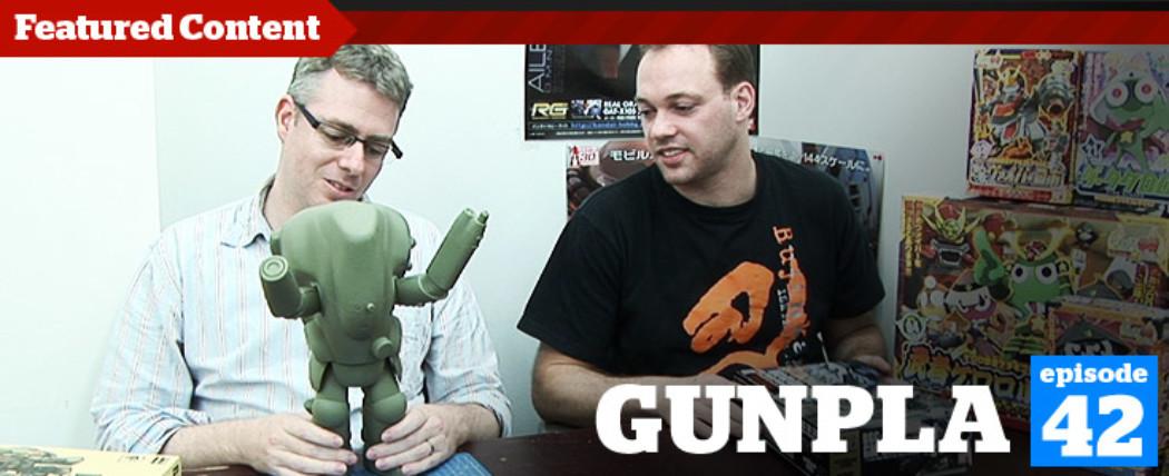 Gunpla TV – Episode 42 – Ryan's Yamato WIP & Bandai's Keroro Kits