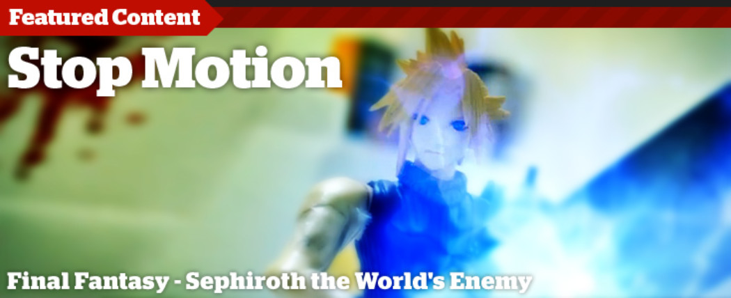 Behind the Scenes: Final Fantasy Stop Motion