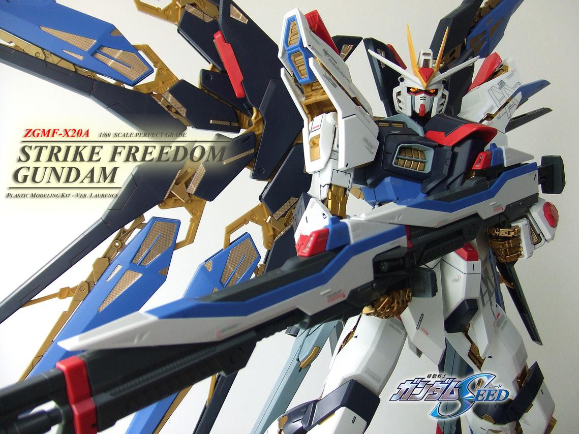 Pg Strike Freedom Gundam Hobbylink Tv
