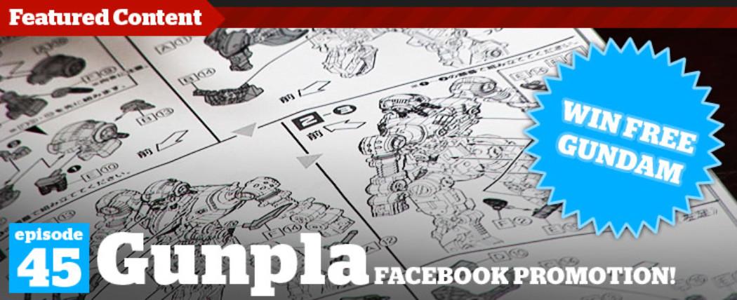 Gunpla TV – Episode 45 – Facebook Contest & Takara Bumblebee Unboxing!
