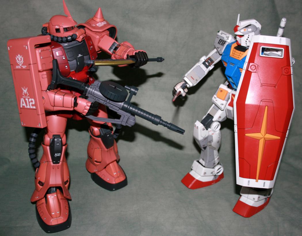 A pair of Mega kits