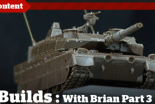 Boss Builds – Episode 3 – Type 10 Main Battle Tank Build & Sprue Stretching