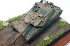 1/72 JGSDF Type 10 Main Battle Tank Build