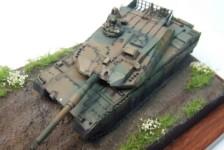 1/72 JGSDF Type 10 Main Battle Tank Build