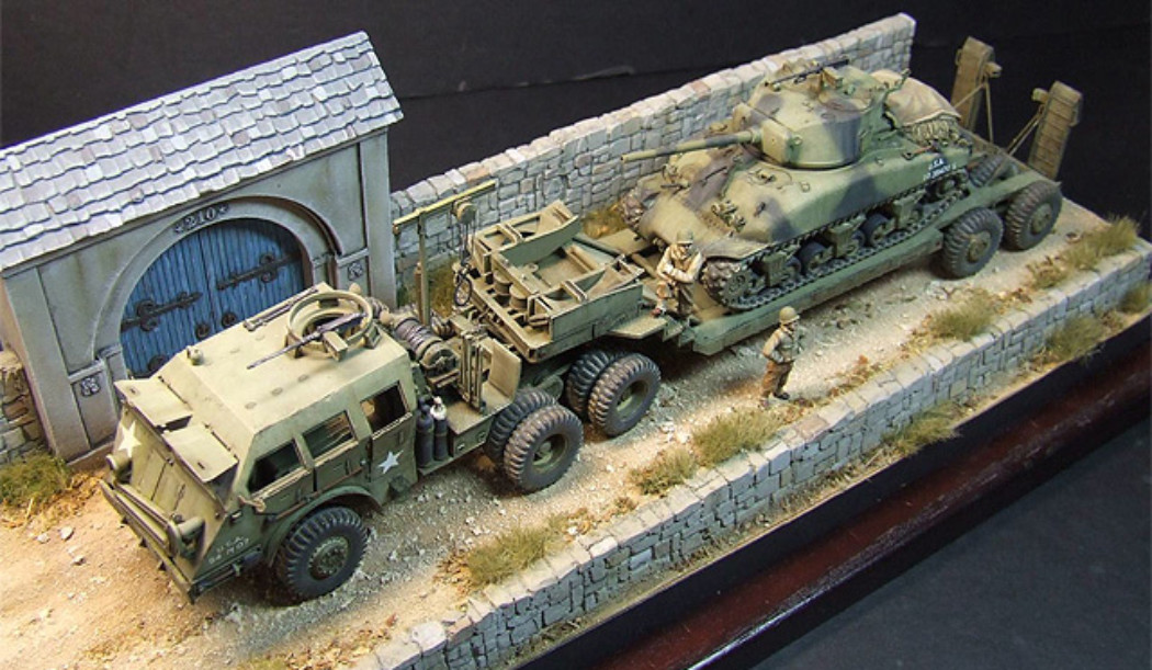 Dragon Wagon w / Sherman M4A1