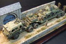 Dragon Wagon w / Sherman M4A1