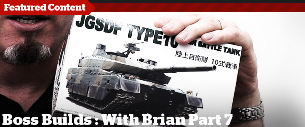 Boss Builds – Episode 7 – Type 10 MBT Detail Painting
