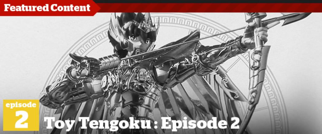 Toy Tengoku – Episode 2 – Unboxing Saint Seiya & Yamato Girl Ami
