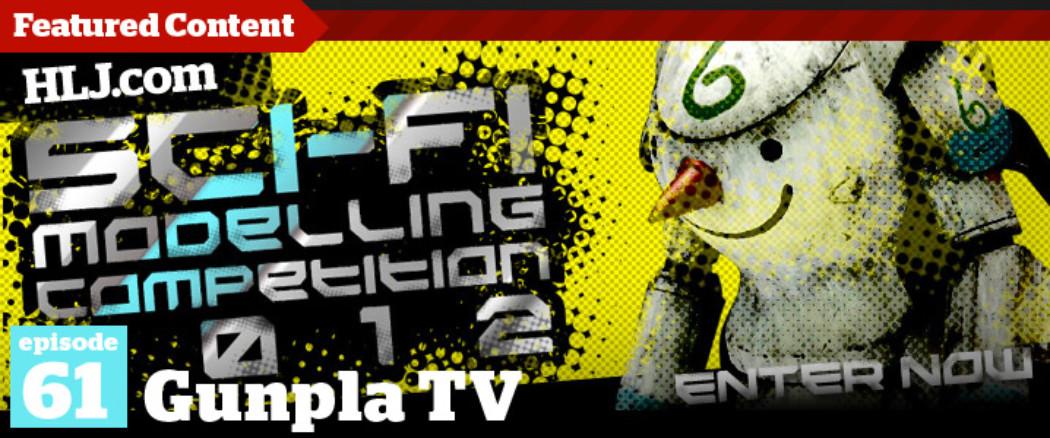 Gunpla TV – Episode 61 – Sci-Fi Modelling Competition 2012 Announcement! Fine Molds' Falcon is Back