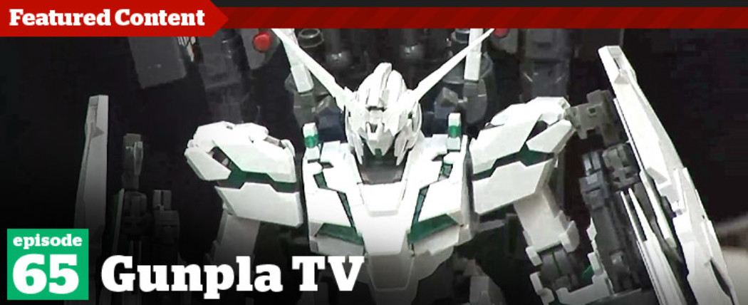 Gunpla TV – Episode 65 – MG FA Unicorn Review – Chrome Millennium Falcon!