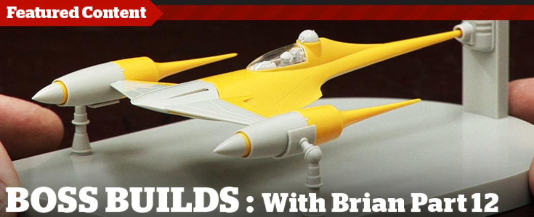 Boss Builds – Episode 12 – Fine Molds Naboo Fighter