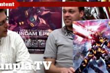 Gunpla TV – Episode 73 – MG Banshee Unboxing & Ryan Paints His Falcon