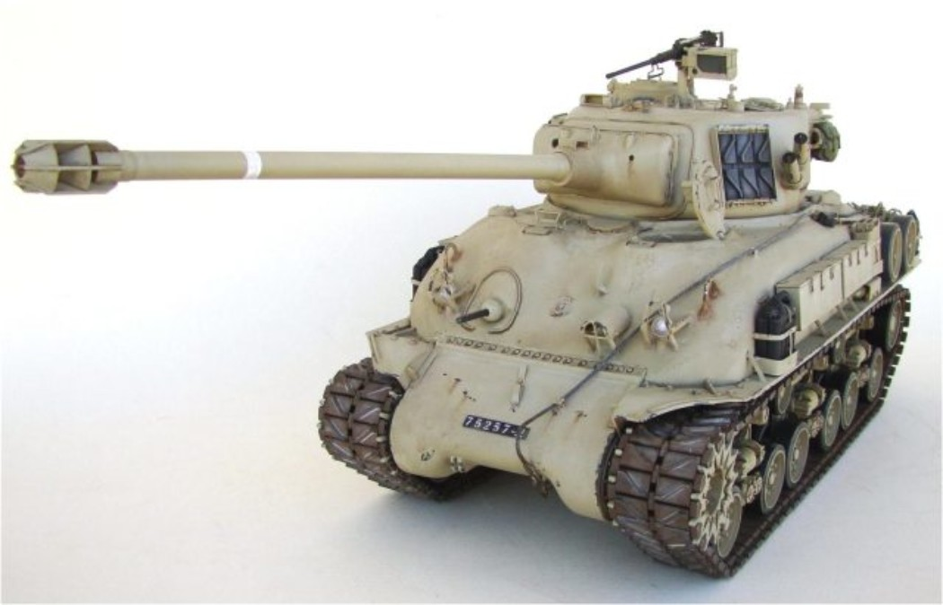 Building an Accurate M51 Isherman from the Tamiya RC Kit 1/16 scale