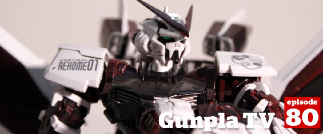 Gunpla TV – Episode 80 –  MG Infinite Justice Review – ReZEL Defenser – Ryan paints a Falcon