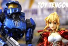Toy Tengoku 22 – Gift Saber Extra – Square Enix Play Arts Kai Halo 3 Spartan Mark V Blue