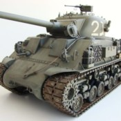 Building an Accurate M50 Sherman from the Tamiya M4-105 RC Kit 1/16 Scale