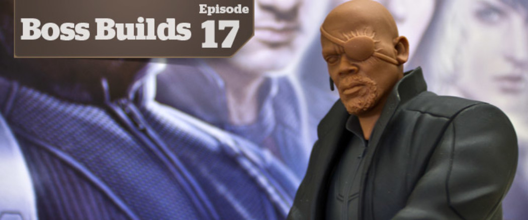 Boss Builds – Episode 17 – Dragons 1/9 Super Hero Series – Nick Fury, Batman, and Bane