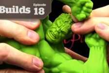 Boss Builds – Episode 18 – 1/9 Avengers: Hulk – Gluing Vinyl