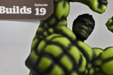 Boss Builds – Episode 19 – 1/9 Avengers: Hulk – Pre-shading