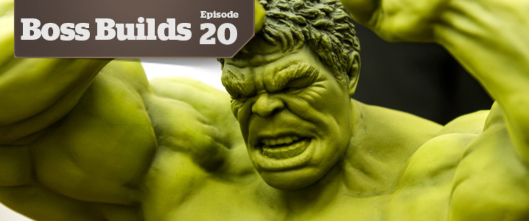 Boss Builds – Episode 20 – 1/9 Avengers: Hulk – Base Coating