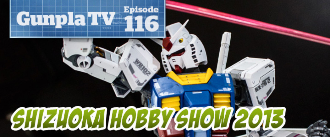 Gunpla TV Live at Shizuoka Hobby Show 2013!