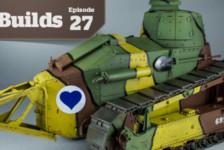 Boss Builds – Episode 27 – 1/16 Renault FT Tank – Amusing Hobby Object 279