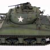 1/16 Aoshima RC Tank: US M4A3 76mm Sherman (T23 turret)