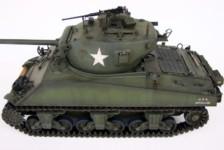 1/16 Aoshima RC Tank: US M4A3 76mm Sherman (T23 turret)