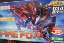 1/72 RZ-046 Firefox by Kotobukiya (Part 1: Unbox)