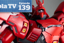 Gunpla TV – Episode 139 – Complete build of the Gundam MG Sazabi Ver Ka – Zoids Gojulas!