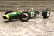 1/20 Team Lotus Type 49 1967 by Ebbro – Review