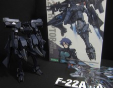 Non-scale F-22A Raptor Infinities by Kotobukiya (Part 2: Review)