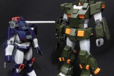 1/72 Combat Armor Dougram by Max Factory (Part 2: Review)